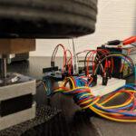 12Vステッピングモーターの動作配線写真(下アングル)